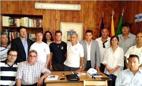 Alcuni componenti della Lega Navale di Lipari