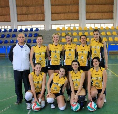 la squadra del club Meligunis che ha disputato l'ultimo campionato con il tecnico Biviano