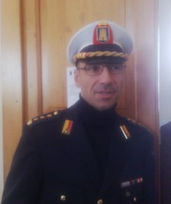 il comandante della Polizia Municipale, Stefano Blasco