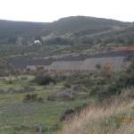 lavori di sbancamento per il depuratore di Vulcano