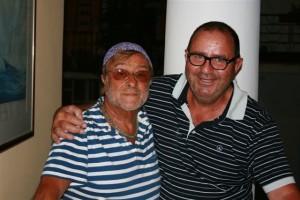 Lucio Dalla con Bartolo matarazzo