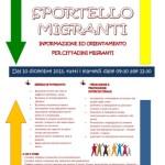 Sportello Migranti Locandina