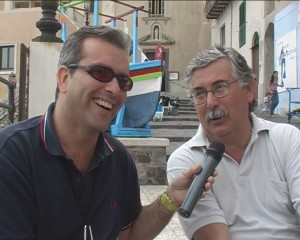 peppe paino con Gian Antonio Stella