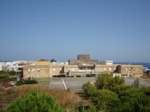 l'elipista dell'ospedale di Lipari