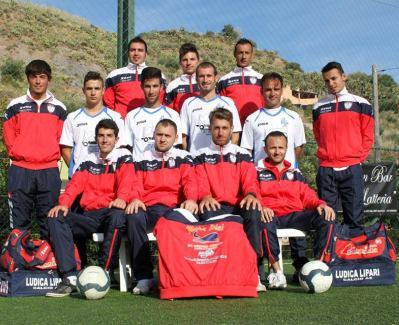 La squadra della Ludica Lipari