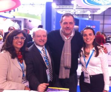 Mariella e Anselmo Urso di Menalda Tour, Gianfranco Vissani ed Elda Fonti