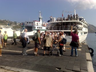 sbarco turisti