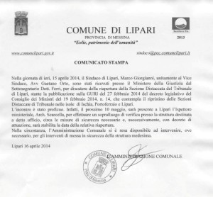 tribunale lip