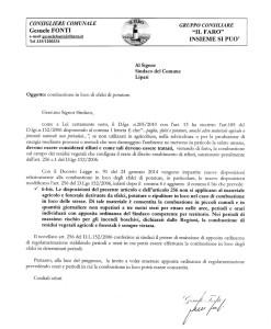 RICHIESTA EMISSIONE ORDINANZA  (SMALTIMENTO SFALCI)