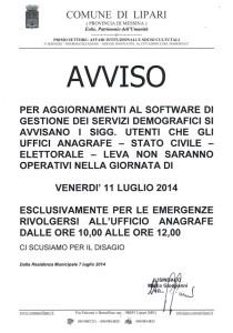 Aggiornamenti software
