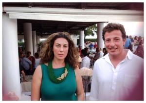 Loredana Salzano con Lucio Tasca
