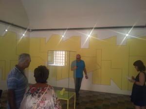tempera su muro a cavo elettrico di Maurizio Savini