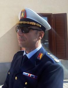 il comandante della Polizia Municipale di Lipari , Stefano Blasco