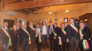 Del Rio con i sindaci delle isole minori siciliane