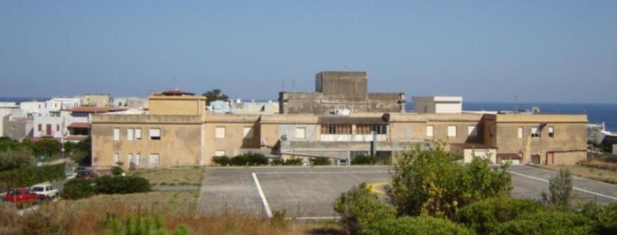 l'ospedale di Lipari