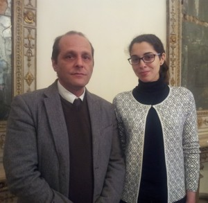 il sindaco Marco Giorgianni con il neoassessore Fabiola Centurrino