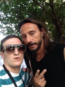 Giuseppe Fonti con Bob Sinclair