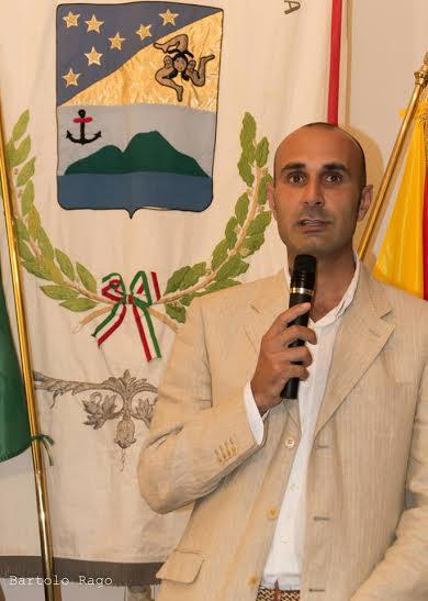 il vicesindaco di Santa Marina, Domenico Arabia