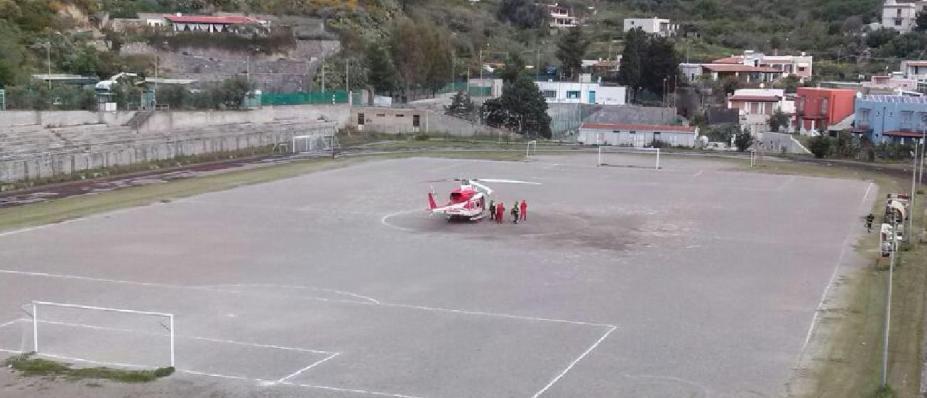 elicottero stadio