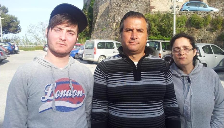 Giuseppe, Antonino e Marcella Zagami