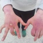 le mani di Giusepe Zagami