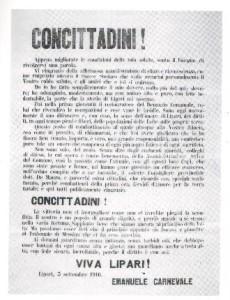 manifesto del 1916