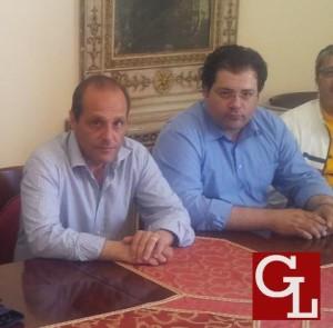 Il sindaco Giorgianni con l'assessore Starvaggi