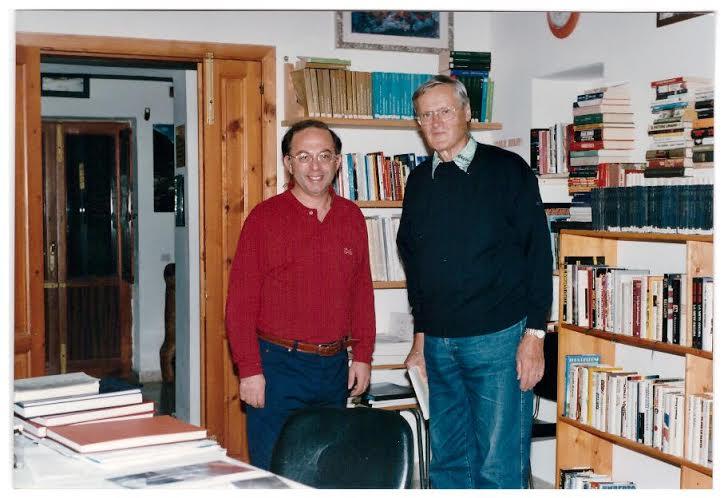 Antonio Brundu con Adrian Wolfgang Martin