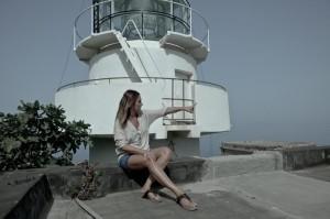 Giovanna Taviani a Capo Faro