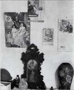 Salina, interno della casa di Concetta Giuffrè