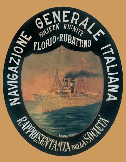 ll 4 settembre 1881 vedeva la luce la Navigazione Generale Italiana (Società riunite Florio e Rubattino).