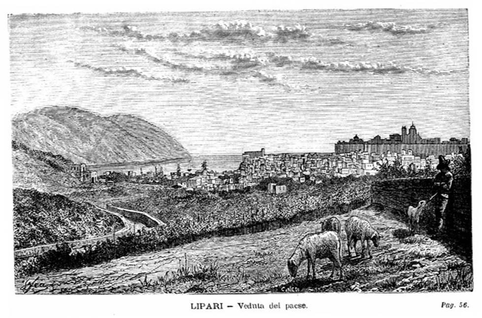 panorama Lipari