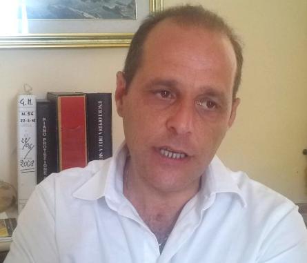 il Sindaco di Lipari, Marco Giorgianni