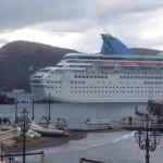 problemi a Marina corta per la Thomson Majesty