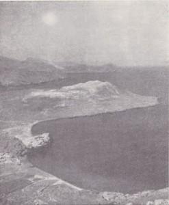 il porto di Levante visto dal cratere grande