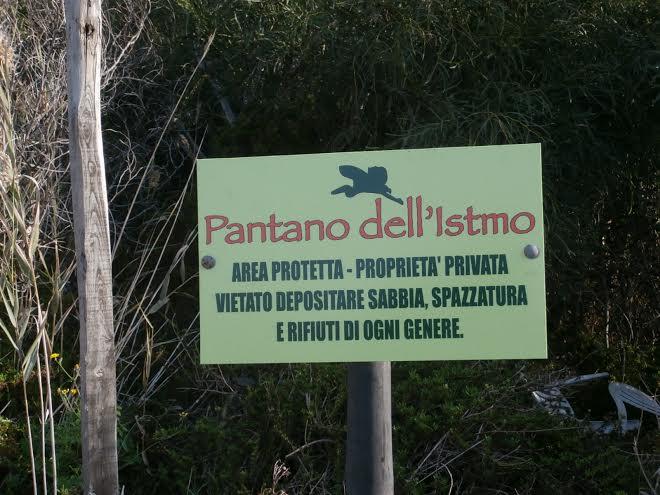 pantano area protetta