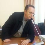 Il revisore Roberto Piemonte in aula