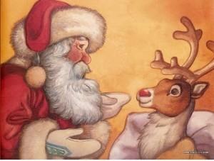 rudolph la renna dal naso rosso