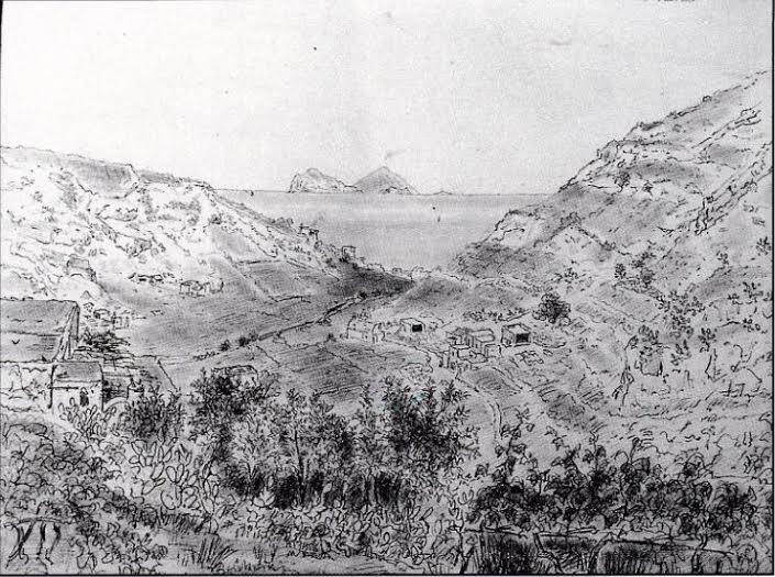 Panarea, Stromboli, Basiluzzo e Lisca Bianca visiti da contrada Serra nell'isola di Lipari.