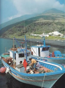 pescherecci a Scari di Stromboli- fotografie di Franco Vergine