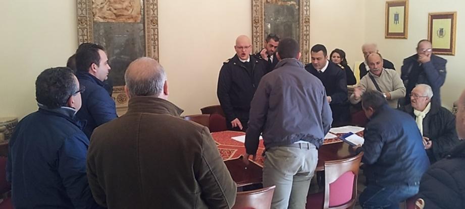 la riunione di questa mattina con i rappresentanti delle società che operano nelle Eolie