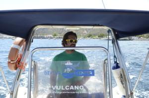 Tony Scontrino del Diving Center Saracen