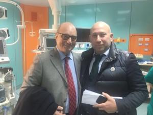 Il presidente Digiacomo con Alessandro La Cava