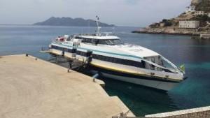 Il Gianni M ieri pomeriggio in mare
