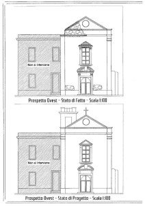 chiesa ginostra progetto