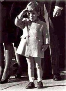 1963 John John Kennedy jr.