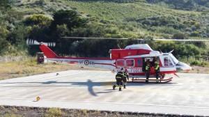 vigili fuoco elicottero