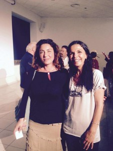 Loredana Salzano con Maria Cuffaro