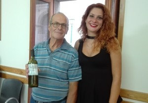 Bartolo Lo Sinno e la figlia Verena futura sommelier