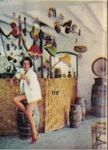 """L'originale bar del """"Villaggio dei Pagliai""""."""